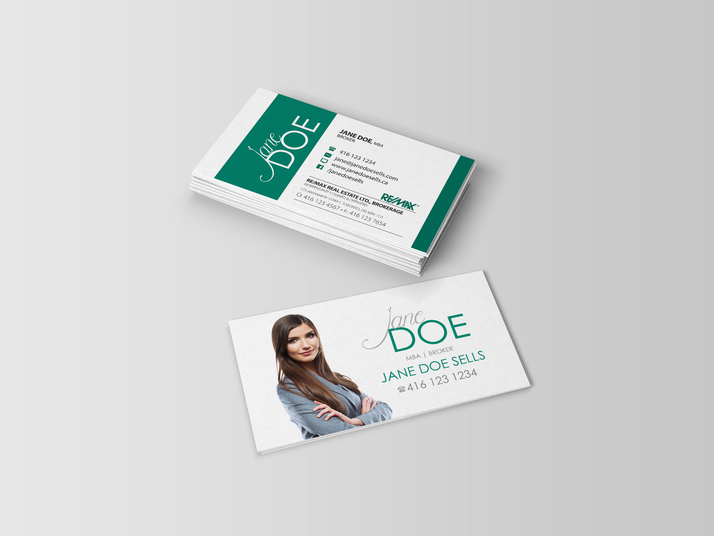 Business card real estate media arts mississauga gta business business card real estate reheart Choice Image