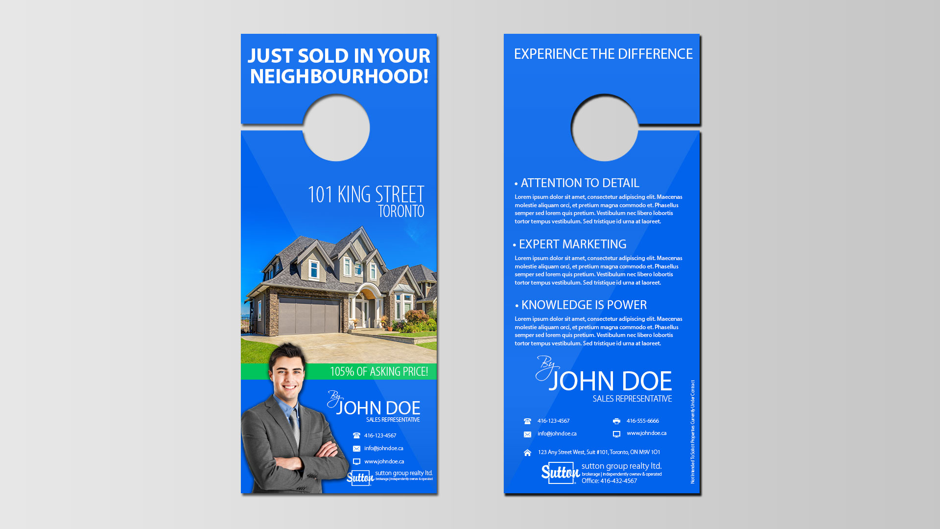 door hanger design real estate. Door Hangers - Media Arts | Mississauga-GTA Business \u0026 Real Estate Printing Hanger Design E