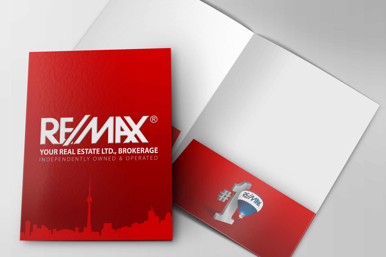 Presentation Folder Real Estate Media Arts Mississauga